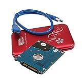 D DOLITY 2,5 Zoll USB3,0 Anschluss 500GB Kapazität HDD Drive HDD-Laufwerk Laptop Festplatte mit Gehäuse