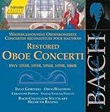 Bach: Restored Oboe Concerti (Edition Bachakademie Vol 131) /Goritzki · Poppen · Rilling