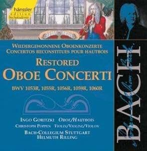 Edition Bachakademie Vol. 131 (Wiedergewonnene Oboenkonzerte)
