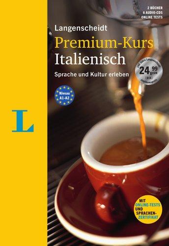 Langenscheidt Premium-Kurs Italienisch - Sprachkurs mit 2 Büchern, 6 Audio-CDs, MP3-Download,...
