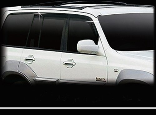 Windabweiser Regenabweiser Terracan getönt Tuning 4 Teile Safe Window Visor (Hyundai Window Visor)