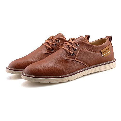 Modische Männer Schuhe Schuhe Casual Schuhe Herren Business Black Tide Schuhe Brown