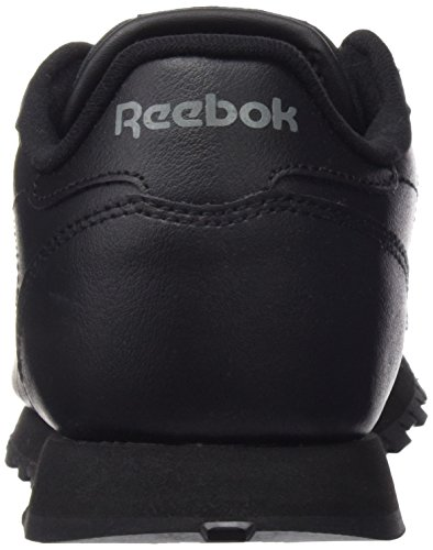 Reebok Classic Leather, Chaussures de Running Entrainement Garçon Noir (Black 001)