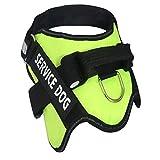 Qyoung Hunde Weste Harnesses No-Pull Hundegeschirr, Atmungsaktiv Brustgeschirr, Reflektierender Hundegürtel aus Leinen, Frontclip Haustierwestengurt, für Mittel und Große Hunde