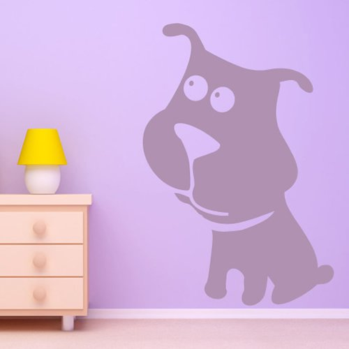 adesivi-cartoon-bull-dog-parete-del-fumetto-animali-adesivo-arte-disponibile-in-5-dimensioni-e-25-co