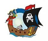 Ursus 18710002 - Laternen Bastelset Pirat, ohne ausschneiden, circa 21.8 x 21 x 10.3 cm, bunt für Ursus 18710002 - Laternen Bastelset Pirat, ohne ausschneiden, circa 21.8 x 21 x 10.3 cm, bunt
