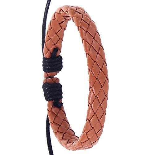UINGKID Damen-Armband Charm Kreative Stilvolle Männer Retro Einfache Mode Handmade Hanfseil Woven ()