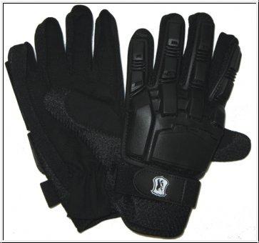 Paintball Handschuhe Protectoren - schwarz, Größe: M