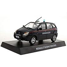 Jiaa Renault Scenic Rx4 2003 Police Car Kit Metálico Estático para Adultos ...