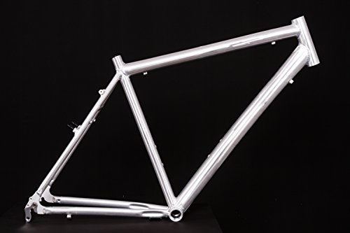 "28"" Zoll Alu Fahrrad Rahmen Herren Trekking City Bike V-Brake Ketten Schaltung Rh 55cm roh unlackiert"