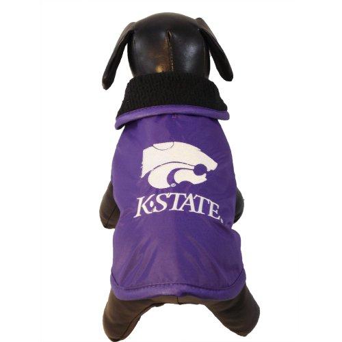 All Star Dogs NCAA Kansas State Wildcats Wetterfeste Schutzkleidung für Hunde, Unisex-Erwachsene, Team Color, X-Large -