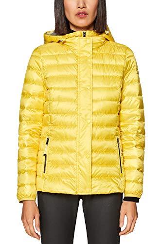 ESPRIT Damen Jacke 128EE1G009, Gelb (Yellow 750), Large