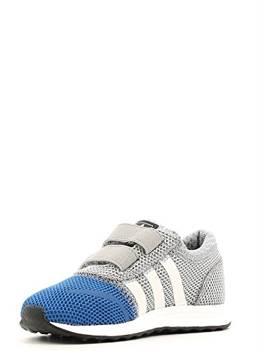 Chaussures Los Angeles Enfant Adidas Gris