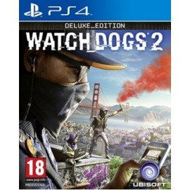 Watch Dogs 2 PS4 Deluxe Edition