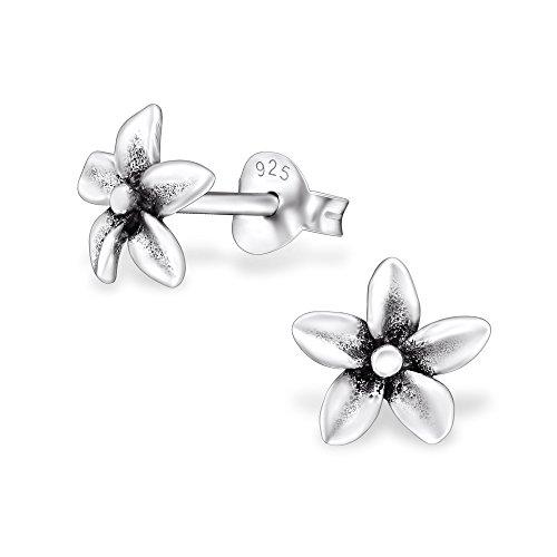 laimons-damen-ohrstecker-damenschmuck-blume-orchidee-oxidiert-sterling-silber-925