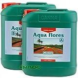 Canna Aqua Flores 5Liter 5L A + B Flower Bloom Pflanzennährstoffe Hydrokultur