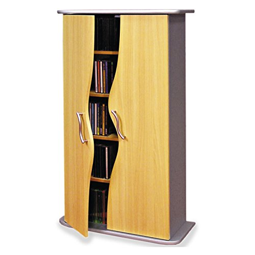 IDIMEX Armoire Range CD/DVD Wave