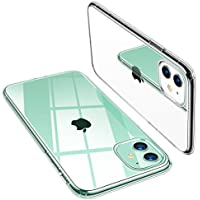 TORRAS Crystal Clear iPhone 11 Case, [Anti-Yellow] Thin Slim Soft TPU Silicone Shockproof Cover Case for iPhone 11 - Pure Clear