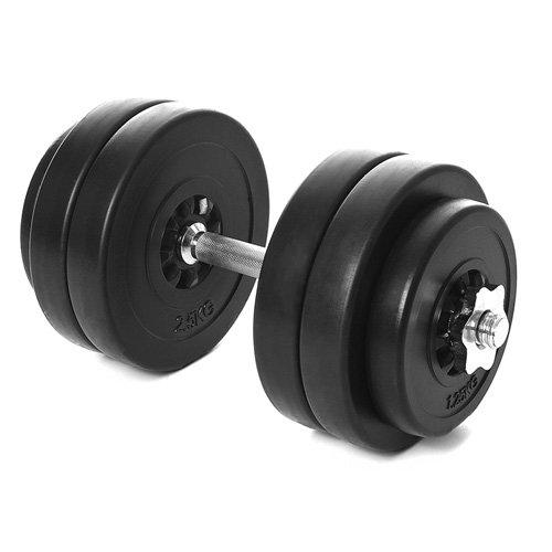 Kinetic Sports Kurzhantel Set 15 kg Hantel Gewichte Hantelscheiben (4 x 2,5 kg, 2 x 1,25 kg)