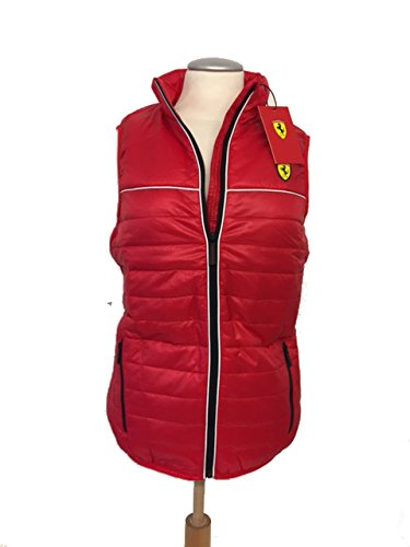 Ferrari Chaleco Acolchado para Mujer – Official Licensed Product ... ccd946720566
