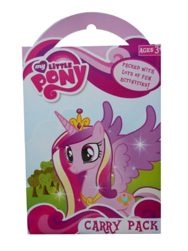y Little Pony tragen Pack, Kunststoff, mehrfarbig (My Little Pony-wiederverwendbare Aufkleber)