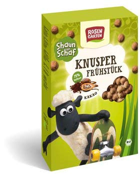 Rosengarten Bio Shaun das Schaf - Knusper-Frühstück Kakao (6 x 325 gr)