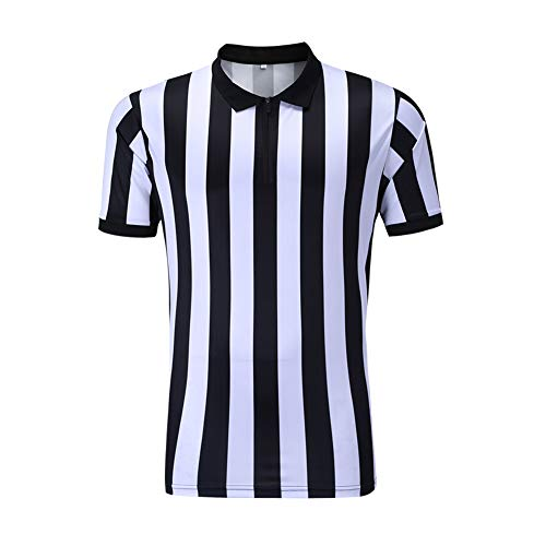 8113e0aed SHINESTONE Referee Shirts, Men's Basketball Football Sports Referee Umpire  Shirt Referee Jersey Costume Short Sleeves