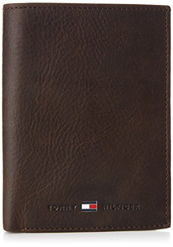 Tommy Hilfiger Herren JOHNSON N/S WALLET W/COIN POCKET Geldbörsen, Braun (BROWN 204), 10x13x2 cm