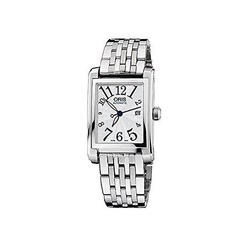 ORIS WOMEN'S STEEL BRACELET & CASE AUTOMATIC ANALOG WATCH 56176564061MB
