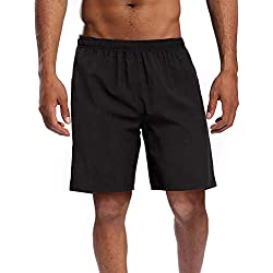 CAMEL CROWN Pantalones Cortos Deportivos para Hombre con Bolsillos Verano Transpirable Short Pantalones Secado Rápido Running Gimnasio Jogging Fitness Workout Training Shorts