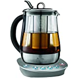 Stainless Steel : Mr. Coffee Premium Hot Tea Kettle With Precise Steeping Technology, Stainless Steel, HTKSS200