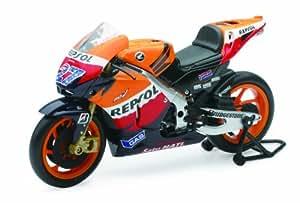 New Ray Toys Street Bike 1:12 Scale Motorcycle - Repsol Honda Motogp Casey Stoner #27 57403