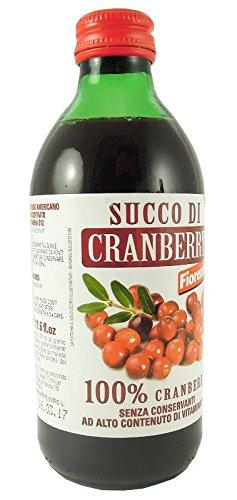 Succo 100% Cranberry con vit.B12 330ml