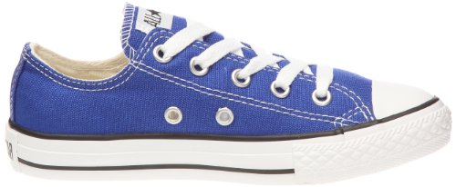 Converse Chuck Taylor All Star Junior Stagionale Bue 15762 Unisex - Kinder Sneaker Blau