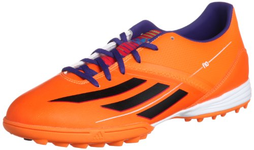 ADIDAS F10 TRX TF Scarpa da Calcio Uomo Orange - Black - Violet