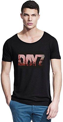 DayZ Dust Logo Bambus Wide Neck T-Shirt Medium