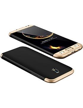 Custodia Samsung Galaxy j5 2017 ,360 Gradi della copertura completa 3 in 1 Hard PC Case Cover Stilosa Protettiva...