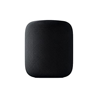 Apple MQHW2B/A HomePod - Smart speaker - Wi-Fi Bluetooth - 2-way - space grey - for iPad/iPhone/iPod - (Speakers > Speakers) (B079RNR6DY) | Amazon price tracker / tracking, Amazon price history charts, Amazon price watches, Amazon price drop alerts