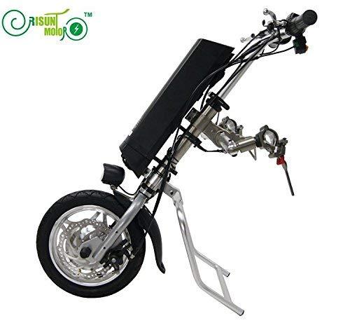 HYLH 36V 250W Elektro-Handbike-Rollstuhlzubehör Handbike DIY Umbausatz mit 36V 9AH Li-Ion Akku