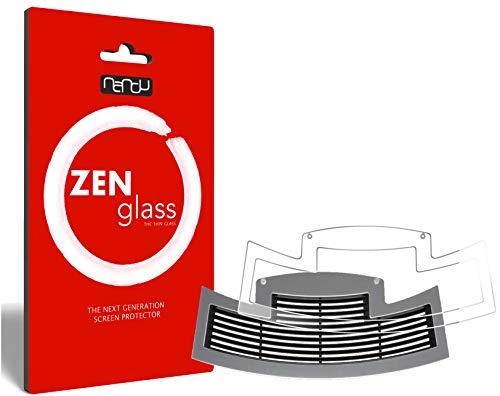 ZenGlass Flexible Glas-Folie für Jura E80 ab 2015 Tropfblech Panzerfolie I Display-Schutzfolie 9H E80 Display