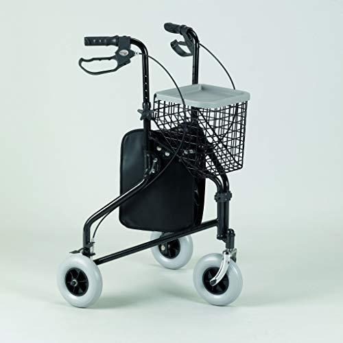 Patterson - cesta con bandeja para andador de 3ruedas