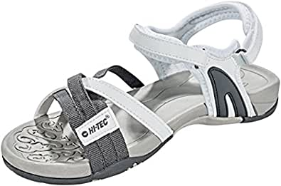 Hi-Tec Damen Savanna Ii Sandalen Trekking-& Wanderschuhe, Weiß (White/Grey), 37 EU