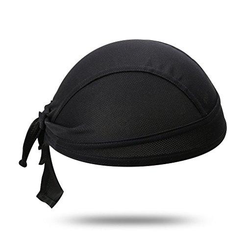 GWELL 6 Farben Bandana Cap Atmungsaktiv Kopftuch Bikertuch UV Schutz Fahrrad Erwachsene Radsport