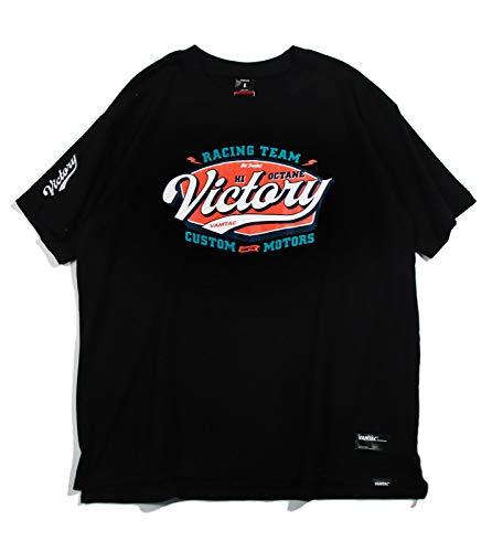 GFF T-Shirt,Lose Sommer Trend Strassenecke Drucken T-Stück,Hiphop Kurze Ärmel,Unisex Europa Und Amerika Paar Trikot Einfach/Schwarz/XL -