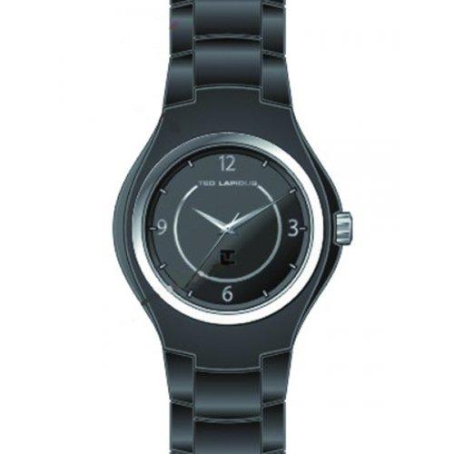 Ted Lapidus - A0533SNAN - Montre Femme - Quartz Analogique - Cadran Noir - Bracelet Acétate Noir