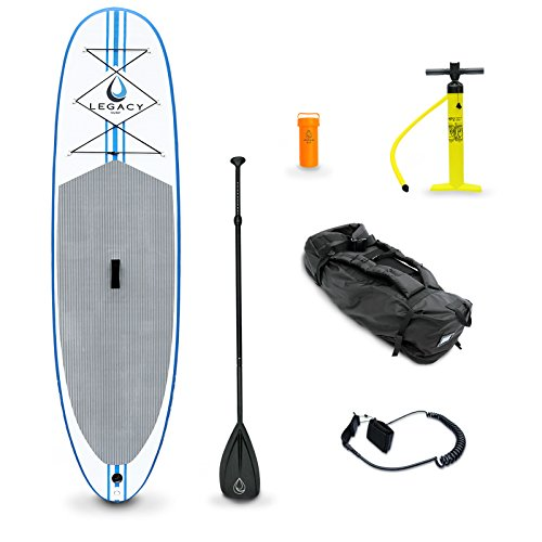 Legacy Inflatable Sup Stand Up Paddle Board Isup & Accessories - 9'9