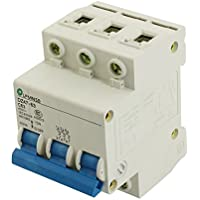 sourcingmap® AC 400V 63A 3 Polo DZ47-63 C63 interruptor ENCENDIDO / APAGADO del interruptor automático Mini 4500A