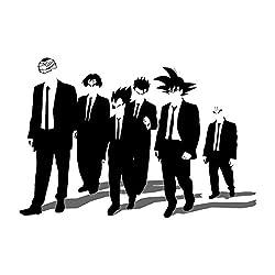 Dragon Ball Z Dogs Inspired By Reservoir Dogs Men's Sweatshirt