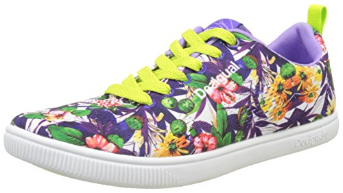 Desigual Damen Shoes_candem G Laufschuhe Weiß (1000 Blanco)
