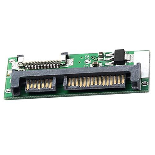 F Fityle 1 Stück 24Pin ZIF CE zu 22Pin SATA Adapterkarte, verbindet 1,8-Zoll-ZIF/CE-Festplatte an EIN SATA 22Pin-Kabel (Kabel Zif)